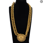 Gold Rue Cambon 31 Paris Pendant Necklace