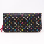 Grenade Long Zippy Organiser Multicolore Black