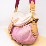 Sunshine Shoulder Bag Pink Denim