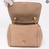 Miss Bonita Beige Leather Bag