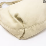 Soho Hobo Large White Leather