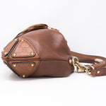 Indy Brown Leather Bag