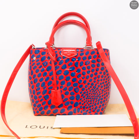 Open Tote Shoulder Bag Vernis Jungle Dots