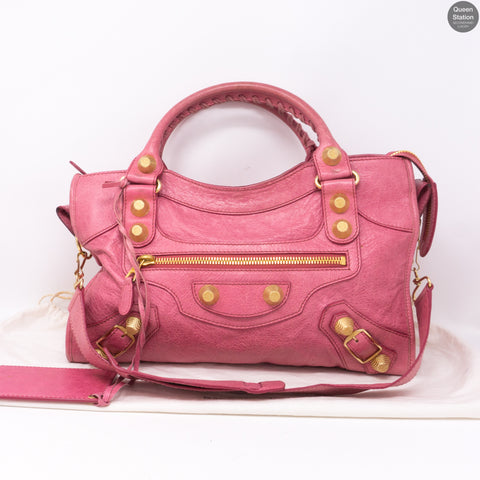 Giant City Pink Leather