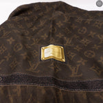 Monogram Silk Square Brown