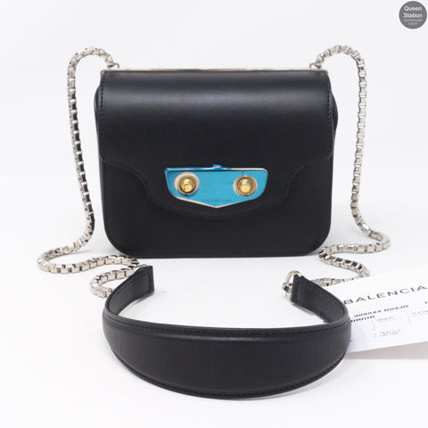 Neo Classic Mini Black Leather