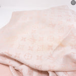 Rose Monogram Denim Shawl