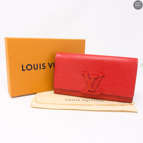 Louise Wallet Red Epi Leather