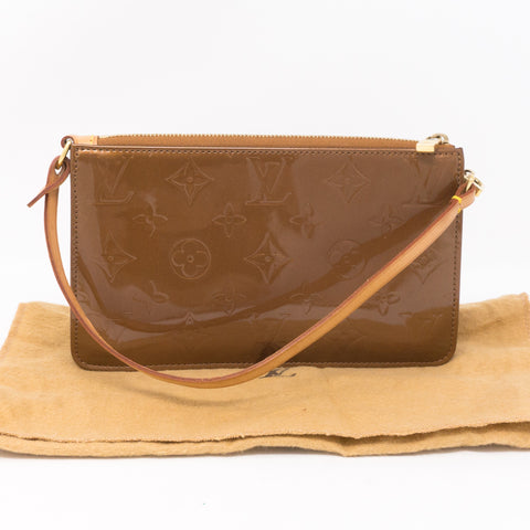 Lexington Pochette Vernis Bronze