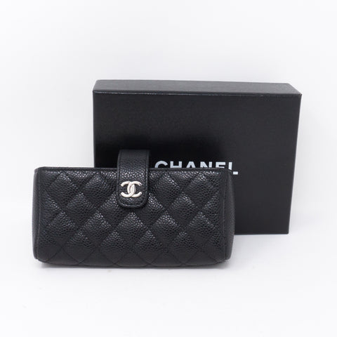 Mini Purse Black Caviar Leather