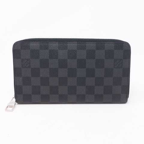 Zippy Organizer Damier Graphite Wallet