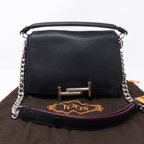 Double T Amu Messenger Bag Black