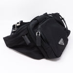 Marsupio Belt Bag Black Nylon