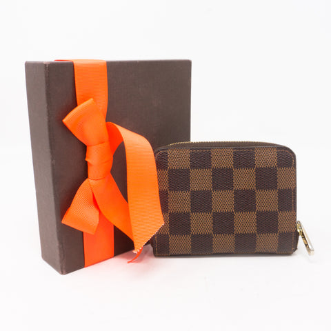 Zippy Coin Purse Damier Ebene