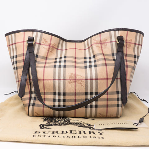 Small Canterbury Haymarket Check Tote Bag
