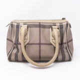 Small Chester Smoked Check Boston Bag