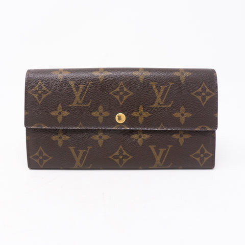 Sarah Long Monogram Wallet