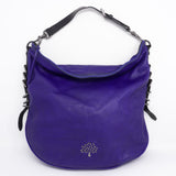 Mila Hobo Electric Blue Leather