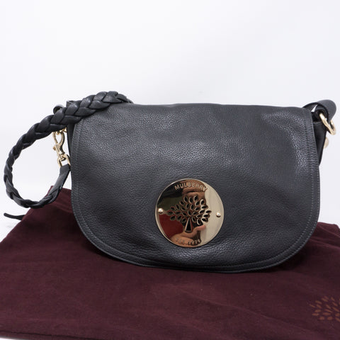 Daria Satchel Gray Leather
