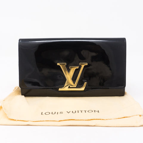 Louise Wallet Vernis Black