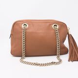 Soho Double Chain Brown Leather