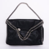 Falabella Fold Over Tote Black