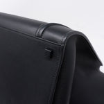 Phantom Luggage Tote Black Leather