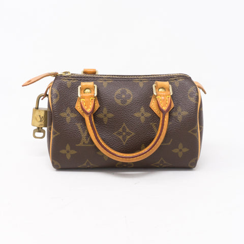 Sac HL Mini Speedy Monogram