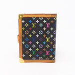 Small Ring Agenda Cover Multicolore Black