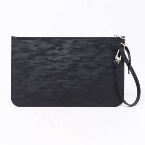 Neverfull Pochette Epi Leather Black