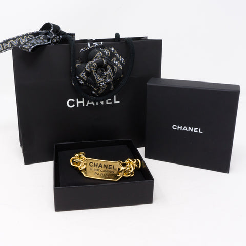 31 Rue Cambon Plate Chain Bracelet