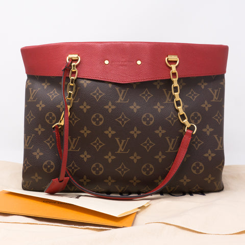 Pallas Shopper Monogram Red