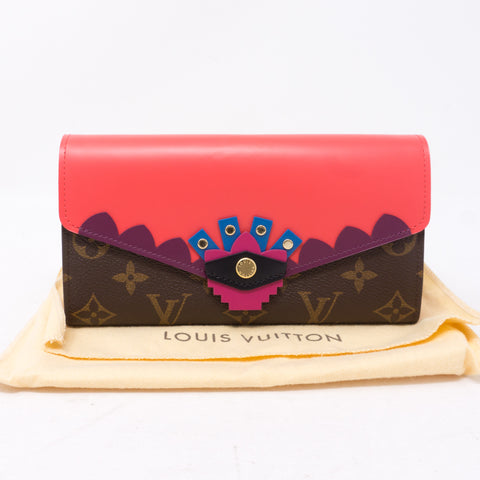 Sarah Wallet Flamingo Monogram Totem