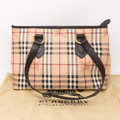 Haymarket Check Tote Bag
