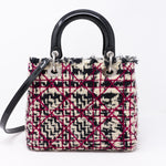 Lady Dior Medium Tweed & Leather