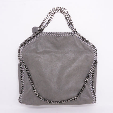Falabella Fold Over Tote Gray
