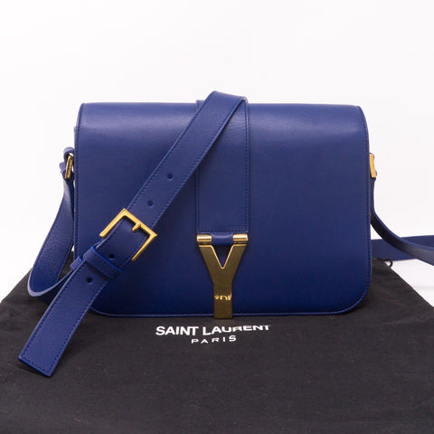 Chyc Ligne Y Blue Leather