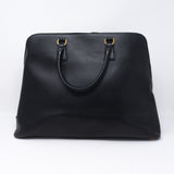 Promenade Large Black Saffiano Leather