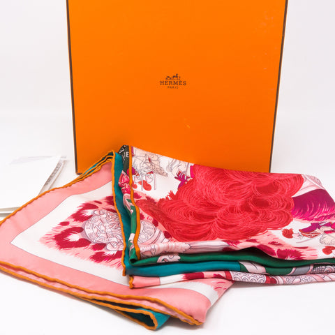 Silk Scarf 90 Double Sangle