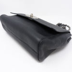 Lily Medium Black Leather