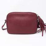 Disco Soho Studded Burgundy Leather