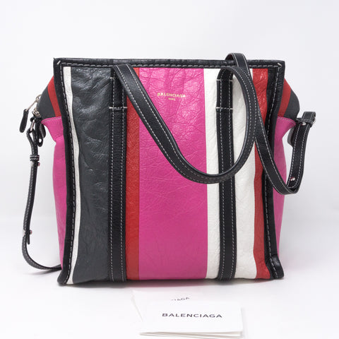 Bazar Shopper Pink Grey