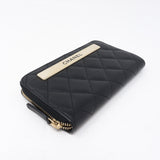 Small Trendy CC Zipped Wallet