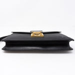 Document Clutch Black Epi Leather