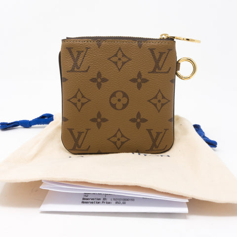 Trio Pouch Medium Monogram Reverse