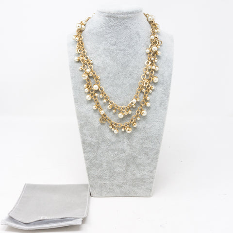 Mise En Dior Pearl Necklace
