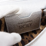Sicily Mini Silver Leather