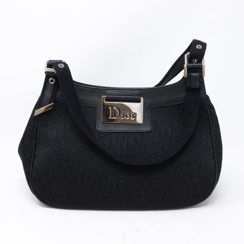 Handbag Black Oblique Canvas