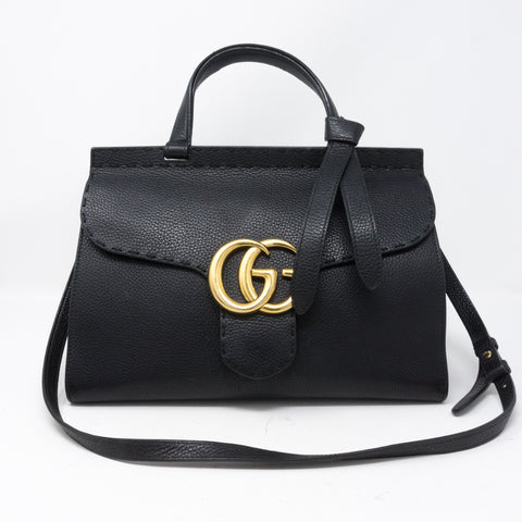 GG Marmont Top Handle Small Bag