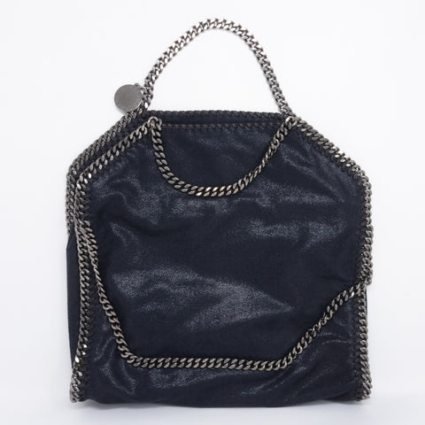 Falabella Fold Over Tote Blue